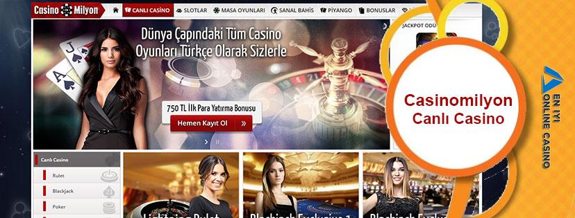 Casinomilyon Canlı Casino